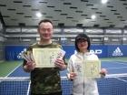 第208回ナイターミックスD オープン準優勝 戸田浩一・宇津木美子