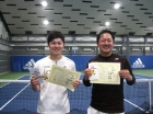 第210回ナイター男子D オープン準優勝 小高芳治・小幡和樹