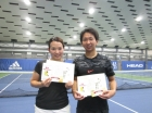 第211回ナイターミックスD 中級以下優勝 高橋英里・高橋夏海
