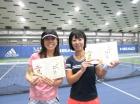 第214回ナイター女子D 中級以下準優勝 鈴木弘子・中野良美