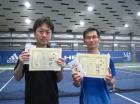 第216回ナイター男子D 中級以下優勝 中村博・島田竜祐