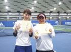 第219回ナイター女子D 中級以下準優勝 小林淑子・山田由佳理
