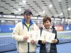 第222回ナイターミックスD オープン準優勝 高橋良昌・高橋友季子