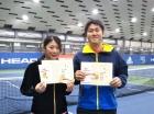 第222回ナイターミックスD オープン優勝 丹野真央・丹野翔太