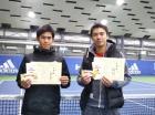 第223回ナイター男子D オープン準優勝 藤原弥・中林直規
