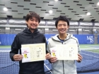 第223回ナイター男子D オープン優勝 渡辺由教・西村平路