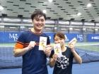 第226回ナイターミックスD オープン準優勝 大内悠輔・西口葉月