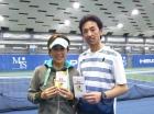 第226回ナイターミックスD オープン優勝 高橋友季子・高橋良昌