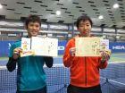 第227回ナイター男子D 中級以下優勝 南里将之・竹村慶