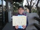 第11回中学生女子 準優勝 田口 舞