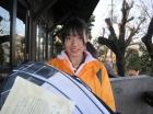 第11回中学生女子 優勝 山口 海