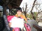 第12回中学生女子 優勝 牧羽 雅子