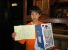 第17回中学生男子 準優勝 田中 健貴