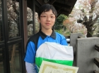 第18回中学生男子 準優勝 才木 涼介