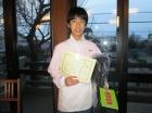 第20回中学生男子 優勝 布施 岳人