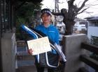 第25回中学生女子 優勝 吉川 綾乃