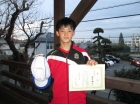 第27回中学生男子 準優勝 横田 勝斗