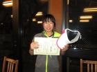 第27中学生女子 準優勝  諏佐 実咲
