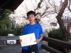 第31回中学生男子 準優勝 山本健太