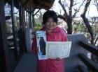 第6回中学生女子 準優勝 牧羽 雅子
