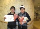 第1121回F2 準優勝 長谷川紀子・長瀬紀子