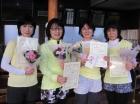 第1139回FT 優勝 横田直子・北澤みゆき・青柳朋子・藤野和美