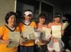 第1170回FT 準優勝 水落由美・加藤沙央理・山田麻衣子・原田美砂子
