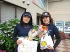 第1183回オープン 準優勝 河津郁子・中本章子