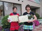 第1202回F4 優勝 加藤明美・加藤綾華