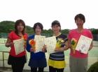 第1312回FT 準優勝 高木美咲子・菊池香織・増島佳子・日達晴江