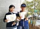 第1392回F3 優勝 河畑恵・原田美砂子