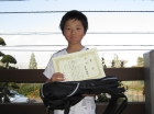 第11回小学生男子10歳以下 優勝 才木 涼介