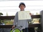 第11回小学生12歳以下 優勝 蒲原 正大