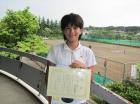 第13回小学生女子 準優勝 木村 羽瑠菜