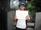 第17回小学生男子10歳以下 優勝 村松 海斗