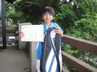 第17回小学生男子12歳以下 優勝 柳沼 峻輔