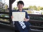 第18回小学生男子10歳以下 優勝 和田 拓