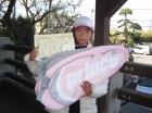 第18回小学生女子10歳以下 優勝 新坂 友紀