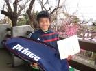 第19回小学生男子10歳以下 優勝 中田 恭平