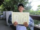 第20回小学生男子10歳以下 優勝 岡部 悠希