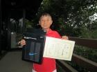 第20回小学生男子12歳以下 準優勝 大村 歩夢