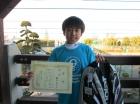 第21回小学生男子10歳以下 優勝 関口 大心