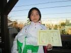 第21回小学生女子 準優勝 野田 栞里