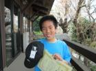 第22回小学生男子10歳以下 準優勝 朝倉 龍雅