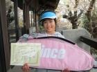 第22回小学生女子12歳以下 優勝 吉川 綾乃