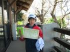 第24回小学生10歳以下 準優勝 柿澤 遼