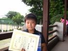 第25回小学生 準優勝 田口 勇真