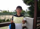 第25回小学生 優勝 菊地 祐太郎