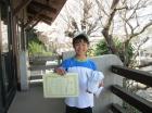 第26回小学生男子 準優勝 大津 拓夢