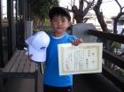 第28回小学生男子 10歳以下 準優勝 鴇田 翔大